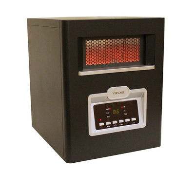 Versonel 6 Element 1500w Portable Quartz Infrared Heater